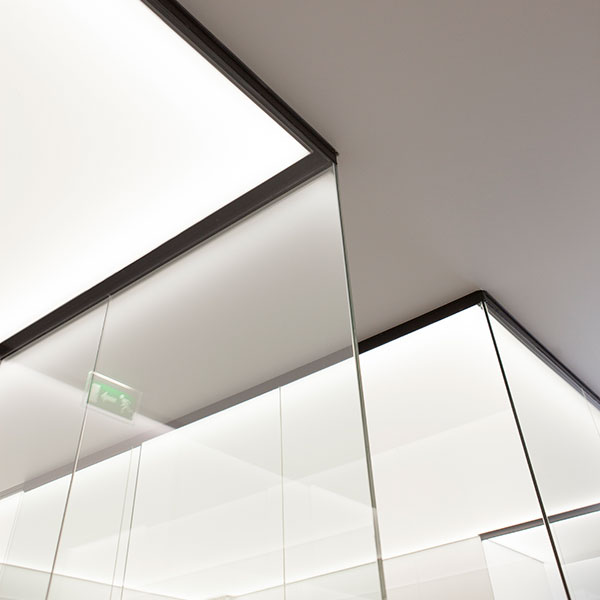 Plafond lumineux pour l'Opéra Garnier