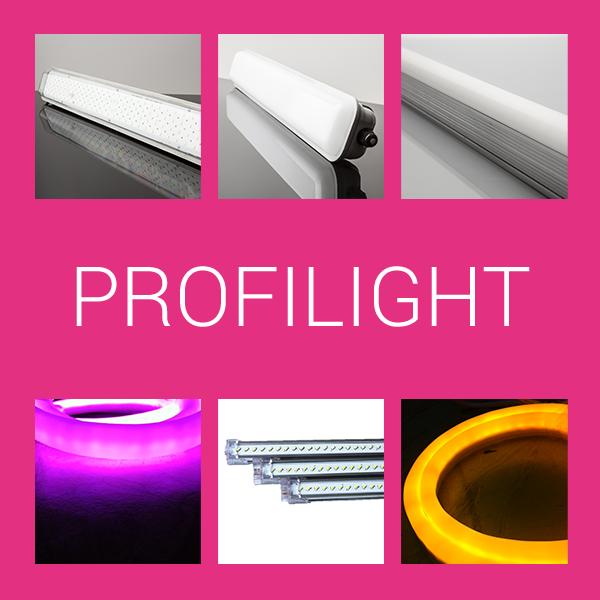 Profilés rigides pour éclairage Led
